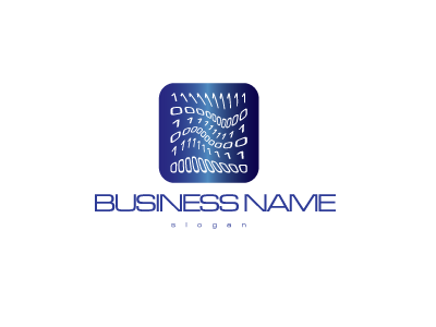 2502, logo, design, albastru, numere, 0, 1, cifre, binar, IT, informatii, tehnologie, calculatoare, programare, software, inalta, tehnologie, tech,