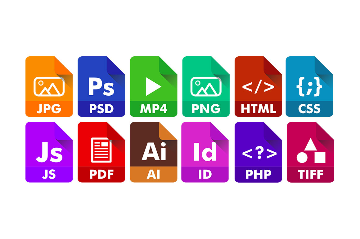 adobe files icons