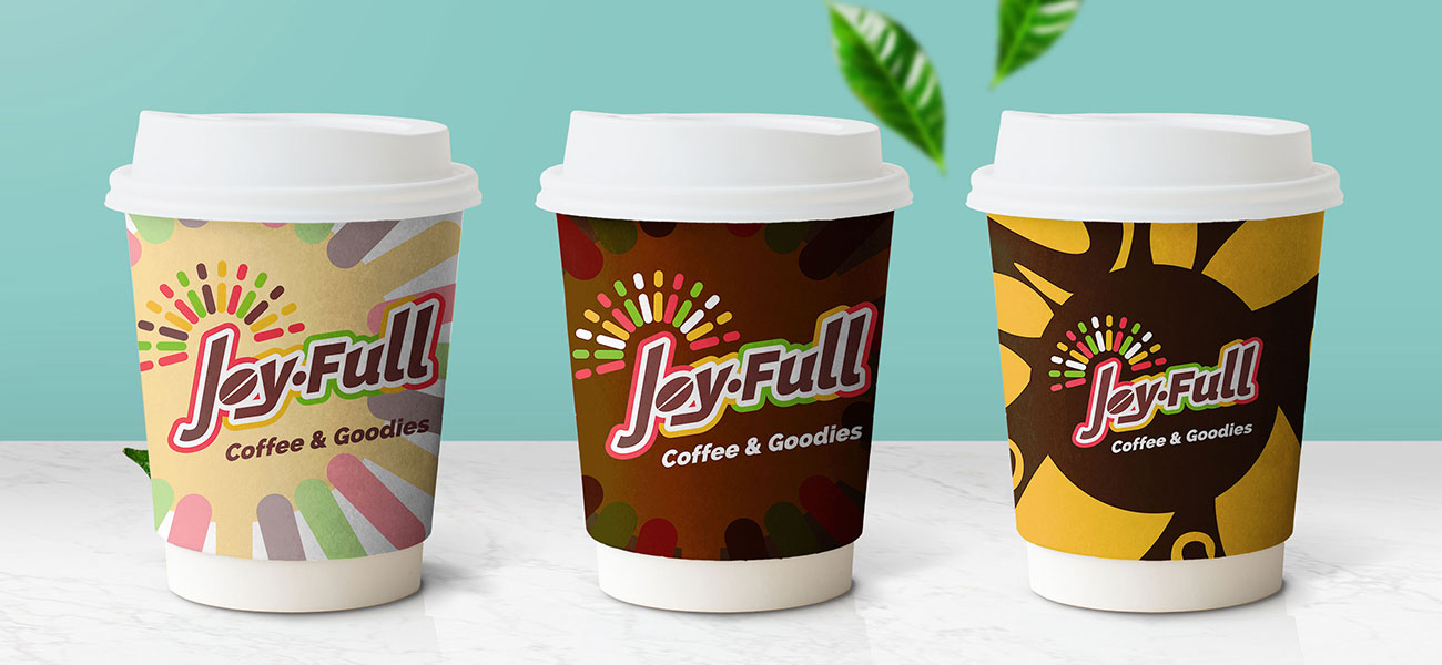 JoyFull Coffee Cups logo